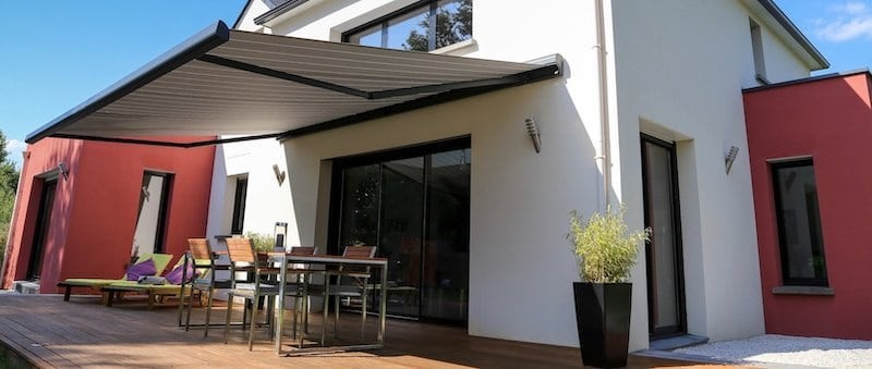 Custom exterior awnings and canopies for your home near Providence, Rhode Island (RI) by Blind King